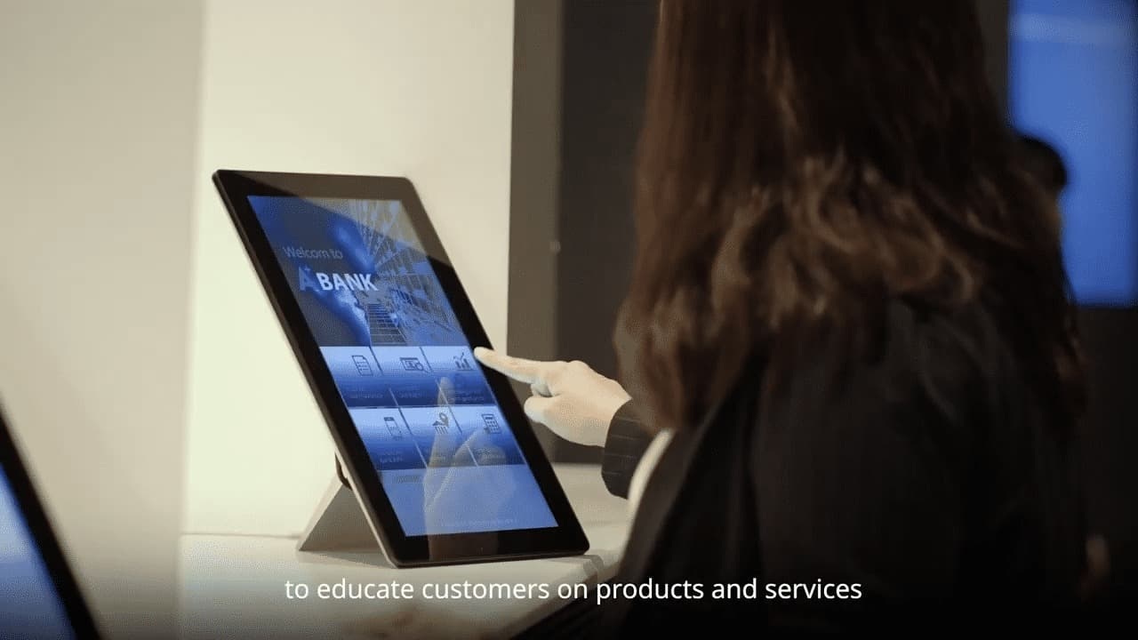 Introducing Advantech UTC-100 all-in-one touch computer -  the optimal solution to enhance customer experience and improve service efficiency